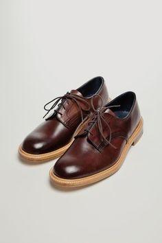 The Best Men's Shoes And Footwear : Tricker's x Très Bien - Mogano Cordovan Derby - Fashion Inspire Best Shoes For Men, Men S Shoes, Sharp Dressed Man, Well Dressed Men, Men Dress, Dress Shoes, Gentleman Shoes, Derby, Le Male