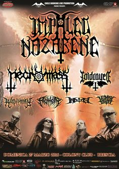 EVENTS: IMPALED NAZARENE LIVE IN ITALY [26.03 & 27.03]