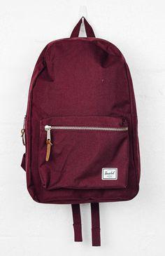 Herschel Heritage 15 Laptop Backpack - Windsor Wine/Tan from peppermayo.com