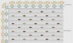 graficosdetapetes de croche entrelaçados - Pesquisa Google