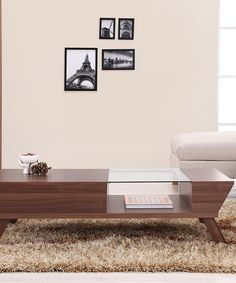 This Walnut Kontempo Modern Coffee Table is perfect! #zulilyfinds