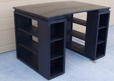 DIY Desk by SRCrawford, via Flickr