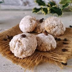 biscotti morbidi al caffè