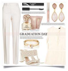 """Graduation Day"" by mistressofdarkness ❤ liked on Polyvore featuring Jil Sander, Etro, Vince Camuto, Dina Mackney, Loren Stewart, Alexander McQueen and Stila"
