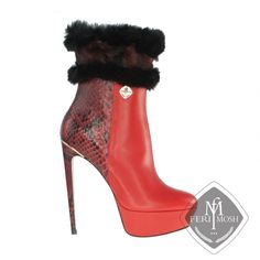 Global Wealth Trade Corporation - FERI Designer Lines High Fashion, Luxury Fashion, Womens Fashion, Platform Ankle Boots, Easy Wear, Hollywood Celebrities, Real Leather, Shoes Heels, Flats