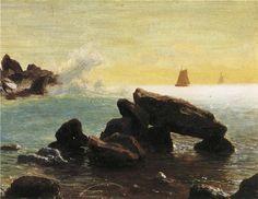 Albert Bierstadt - Farralon Islands California