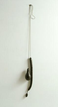 Eva Hesse. No title, 1966. Enamel, papier-caché, rubber