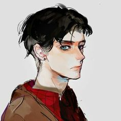 - - Please visit our website to support us! Male Character, Character Drawing, Character Illustration, Character Concept, Concept Art, Illustration Art, Character Design, Art Anime, Hot Anime Guys
