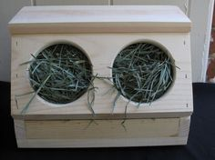 Rabbit Hay Box - Free Chew/toss Toy Included