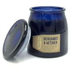 Blythe and Flint Bergamot Vetiver Scented Candle 15 Oz Poured in the USA #BlytheFlint