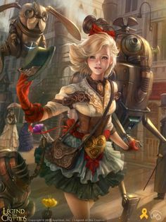 steampunk-art:  Steampunk Art