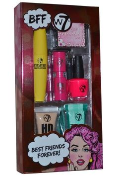 W7 Cosmetics Best Friends Forever is the gift of choice for any beauty addict. Contains an assortment of essential cosmetics and everything you will need to inject additional glam into your beauty routine. £5.99