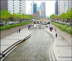 This photo from Seoul, North is titled 'Seoul River'. South Korea, Seoul, Wander, Tourism, Asia, Sidewalk, Street View, River, Bucket