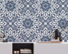 Modern Marrakesh Removable Wallpaper Moroccan self adhesive