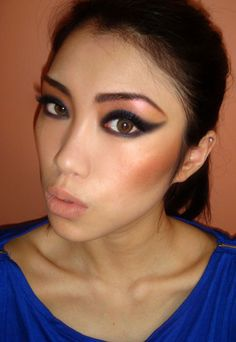Google Image Result for http://makeupforlife.net/wp-content/gallery/fotd/nars-inspired-80s-makeup-look-with-strong-cat-eye-and-nude-lips.jpg