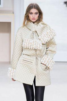 Les tendances manteaux automne-hiver 2016-2017 - Matelassé, Chanel