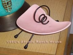 1950's Atomic Ranch House: Mid Century Atomic Eames Ashtrays!