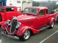 Weiss Mercury Turnpike rojo 1957
