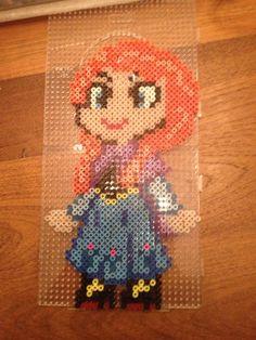 Anna Frozen hama beads by Rory Eileen Van Der Meijden