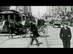"San Francisco Pre-Earthquake-Fire: ""A Trip Down Market Street"" 14 April 1906: http://youtu.be/THofINfihrI #SF #history #film"