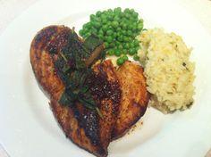 Lemon and sage chicken breast