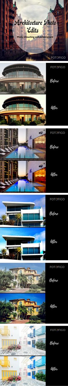 Capture stunning and creative architecture images and get high quality photo editing services at https://www.fotofigo.com  #photography #architecture #photoretouch #trends #building #perfectshot #realestate