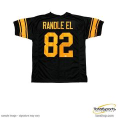 3d4e57c61 Antwaan Randle-El Autographed Custom 75th Anniversary Football Jersey with  SB XL CHAMPS