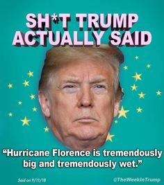 Those are some words. He knows words. Caricatures, Satire, Trump Quotes, Evil Empire, Republican Party, Dumb And Dumber, Cool Words, Donald Trump, Shit Happens