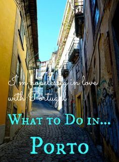 On my recent trip to Portugal I was lucky enough to spend a couple of days in the beautiful city of Porto. It's an incredible city with so much to do! ----- I'm hopelessly in love with Portugal: What To Do In Porto - Adventure Lies in Front