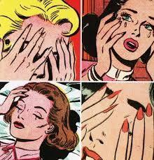 love Illustration vintage romance comic retro sadness my scan chalres s. Old Comics, Comics Girls, Vintage Comics, Vintage Meme, Pop Art Vintage, Vintage Romance, Vintage Girls, Retro Vintage, Roy Lichtenstein