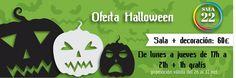 Halloween ha llegado a SALA 22!