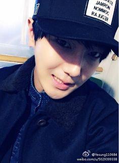 Yesung - Weibo 141209