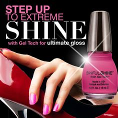 SinfulShine - 5x as shiny as a patent leather shoe!n SInful Colors