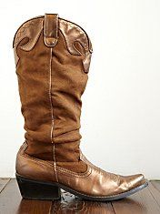 Vintage Scrunched Cowboy boots from Free People
