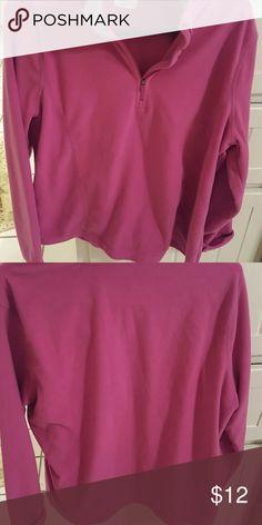 Fleet shirt Woman's fleet shirt. Worn maybe 3 times. Tops Sweatshirts & Hoodies