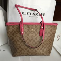 Coach Tote Bag Coach Tote Bag, brand new. Authentic ❤️❤️❤️ Coach Bags Totes