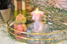Gorgeous Rose Scented Soy Goddess Candle Candle Tray, Candle Holders, Candles, Quirky Decor, Unique Home Decor, Looking Stunning, Im Not Perfect, Wax, Retro