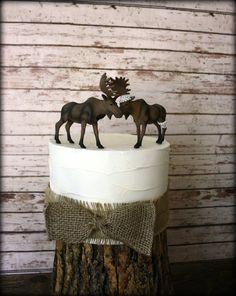 Moose wedding cake topperAlaskan MooseMoose by MorganTheCreator, $50.00