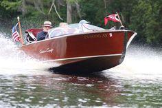 1953 Chris Craft 19′ Racing Runabout