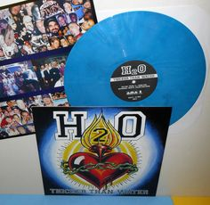 H2O thicker than water Lp Record BLUE Marbled Vinyl w/ insert , punk #PUNKHARDCORE