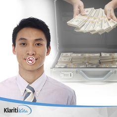 Dibalik aktivitas merokok sebenarnya ada peluang mengganti uang beli rokok menjadi aset bernilai ratusan juta rupiah. Caranya sederhana, Anda stop merokok dan alokasikan dana anda kedalam investasi reksadana. Jute