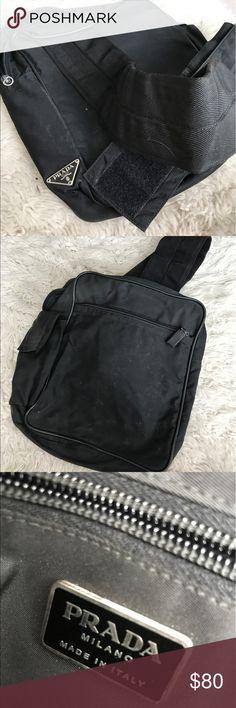 Selling this Old school Prada backpack on Poshmark! My username is: audiebird. #shopmycloset #poshmark #fashion #shopping #style #forsale #Prada #Handbags