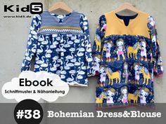Nähanleitungen Kind - ★ ebook Boho Kleid