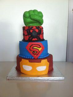 Hulk Cake Topper Brisbane