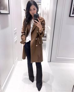 """876 Likes, 82 Comments - Q (@bb10lue) on Instagram: """"The best sale score ever! This amazing classic double cashmere coat went on sale at @dior, I have…"""""""