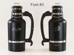 DrinkTanks Growler and Keg Cap Kit, 64 oz., personalized from BeerLoved