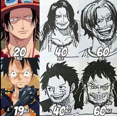 Luffy looks a lot like Shanks in his and like Garp in his But Ace kinda looks like Rayleigh Monkey D Luffy, One Piece Manga, Zoro, Ace Sabo Luffy, The Pirate King, 0ne Piece, Fanart, One Piece Luffy, Anime Costumes