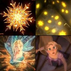 Frozen/Tangled parallel