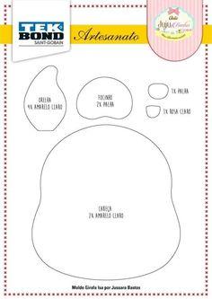 Bear Felt, Diagram, Chart, Map, Album, Friends, Giraffe Illustration, Feltro, Handmade Crafts