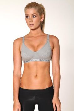 Sports Bra with Body Energy Elastic by Blockout womens sports wear Blockout. $43.95. Supportive for women of all bust sizes. Sports bra with an elastic trim. Fully adjustable straps. Designed in Australia. Light weight fabric